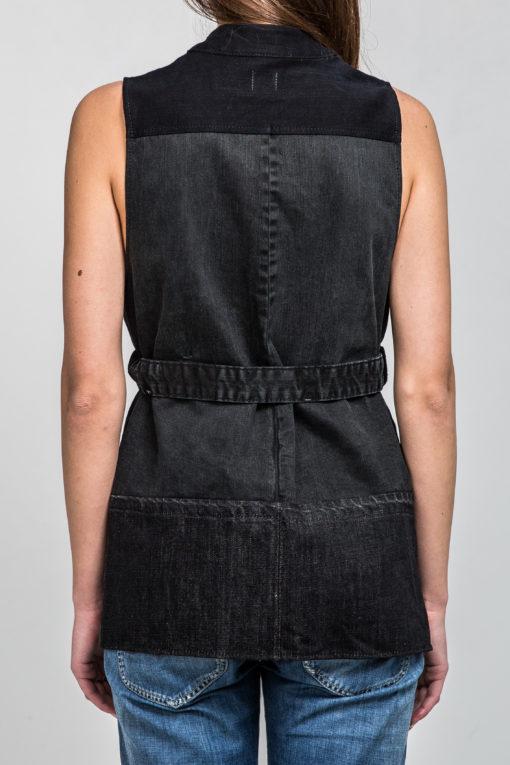 Gracious Black vest back