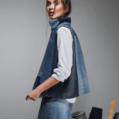 Reckless Sky denim vest