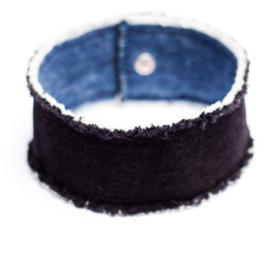 Big Fat denim Choker